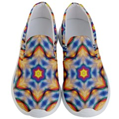 Pattern Abstract Background Art Men s Lightweight Slip Ons