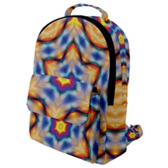 Pattern Abstract Background Art Flap Pocket Backpack (small)