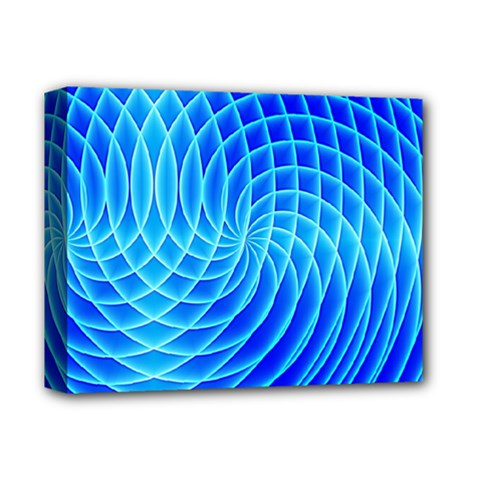 Background Light Glow Abstract Art Deluxe Canvas 14  X 11  (stretched)