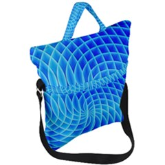 Background Light Glow Abstract Art Fold Over Handle Tote Bag