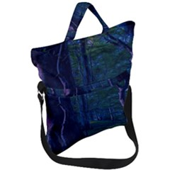 Beeches Tree Forest Beech Shadows Fold Over Handle Tote Bag
