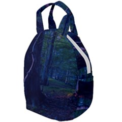Beeches Tree Forest Beech Shadows Travel Backpacks by Sapixe