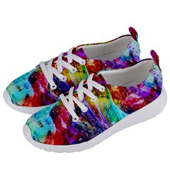 Background Art Abstract Watercolor Women s Lightweight Sports Shoes by Sapixe