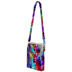 Background Art Abstract Watercolor Multi Function Travel Bag by Sapixe