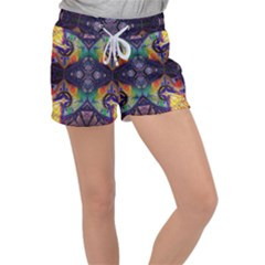 Phronesis Awareness Philosophy Women s Velour Lounge Shorts by Sapixe