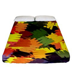 Mural Murals Graffiti Texture Fitted Sheet (king Size) by Sapixe