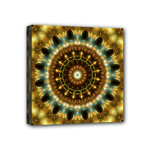 Pattern Abstract Background Art Mini Canvas 4  X 4  (stretched)