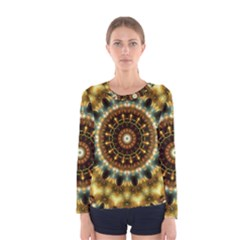 Pattern Abstract Background Art Women s Long Sleeve Tee