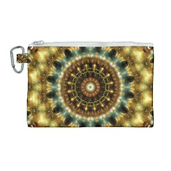 Pattern Abstract Background Art Canvas Cosmetic Bag (large)