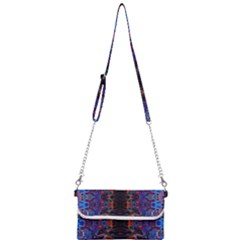 Kaleidoscope Art Pattern Ornament Mini Crossbody Handbag
