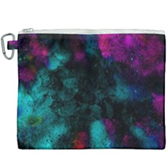 Background Art Abstract Watercolor Canvas Cosmetic Bag (xxxl)