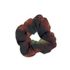 Background Cave Art Abstract Velvet Scrunchie by Sapixe
