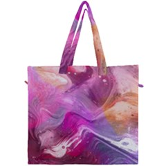 Background Art Abstract Watercolor Canvas Travel Bag