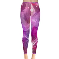 Background Art Abstract Watercolor Inside Out Leggings