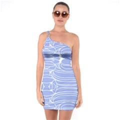 Stratus One Soulder Bodycon Dress by Tiffied