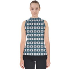 Contemplaid20 Mock Neck Shell Top