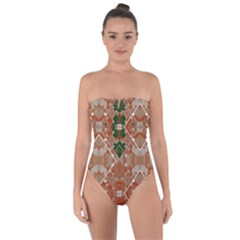 Springtime Sonata Jades Tie Back One Piece Swimsuit