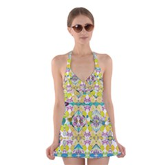 Chateau Jardin Halter Dress Swimsuit  by Tiffied