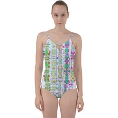Swordsneonlight Cut Out Top Tankini Set by Tiffied