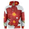 Deep Plumb Blossom Men s Pullover Hoodie View1