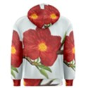 Deep Plumb Blossom Men s Pullover Hoodie View2
