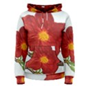 Deep Plumb Blossom Women s Pullover Hoodie View1