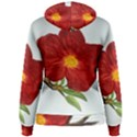 Deep Plumb Blossom Women s Pullover Hoodie View2
