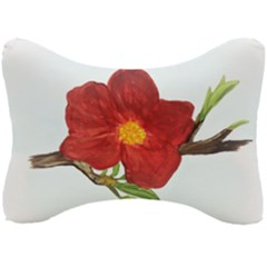Deep Plumb Blossom Seat Head Rest Cushion