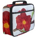 Deep Plumb Blossom Full Print Lunch Bag View3