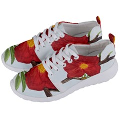 Deep Plumb Blossom Men s Lightweight Sports Shoes by lwdstudio