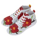 Deep Plumb Blossom Men s Lightweight High Top Sneakers View2