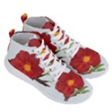 Deep Plumb Blossom Men s Lightweight High Top Sneakers View3