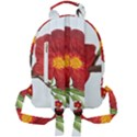 Deep Plumb Blossom Mini Full Print Backpack View2