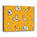 Funny Halloween Party Pattern Canvas 14  x 11  (Stretched) View1
