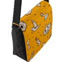 Funny Halloween Party Pattern Flap Closure Messenger Bag (L) View2