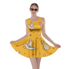 Funny Halloween Party Pattern Skater Dress