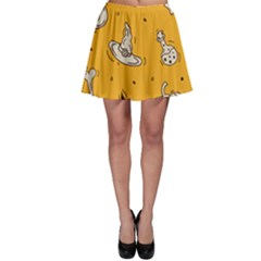 Funny Halloween Party Pattern Skater Skirt