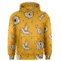 Funny Halloween Party Pattern Men s Pullover Hoodie View1
