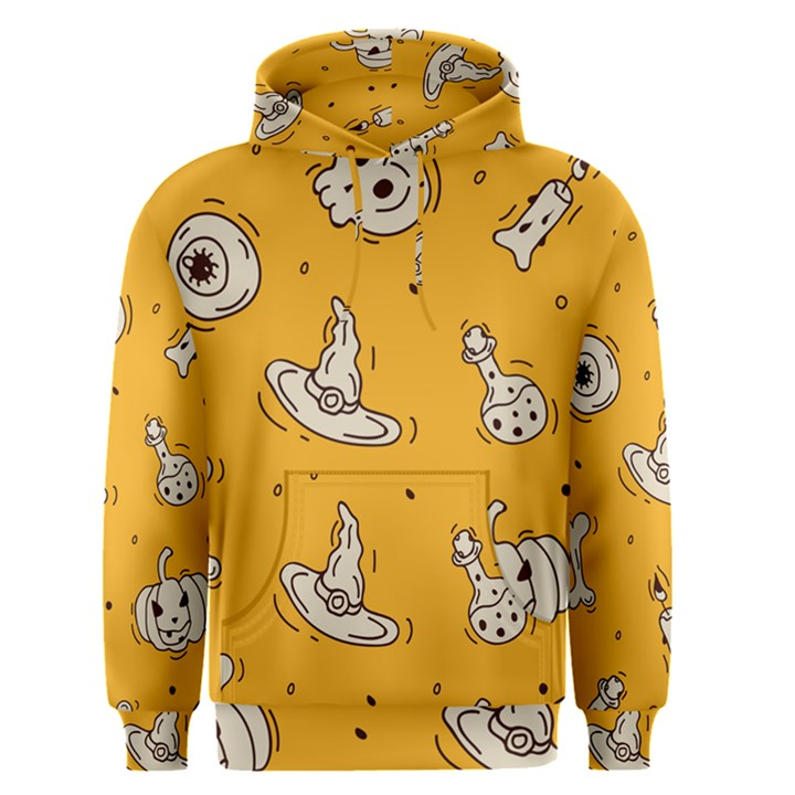 Funny Halloween Party Pattern Men s Pullover Hoodie