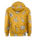 Funny Halloween Party Pattern Men s Pullover Hoodie View2