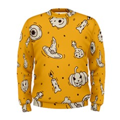 Funny Halloween Party Pattern Men s Sweatshirt