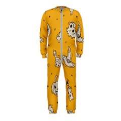 Funny Halloween Party Pattern Onepiece Jumpsuit (kids)