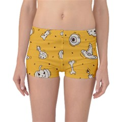 Funny Halloween Party Pattern Boyleg Bikini Bottoms