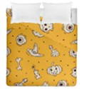 Funny Halloween Party Pattern Duvet Cover Double Side (Queen Size) View1