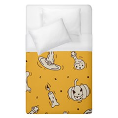 Funny Halloween Party Pattern Duvet Cover (single Size)