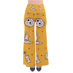 Funny Halloween Party Pattern So Vintage Palazzo Pants