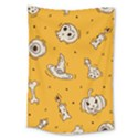 Funny Halloween Party Pattern Large Tapestry View1