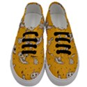 Funny Halloween Party Pattern Men s Classic Low Top Sneakers View1