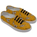 Funny Halloween Party Pattern Men s Classic Low Top Sneakers View3