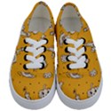 Funny Halloween Party Pattern Kids  Classic Low Top Sneakers View1